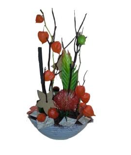 Compositions de fleurs haute