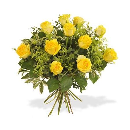 FloMiel Bouquet de Roses jaunes
