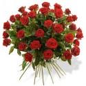 Bouquet Roses Rouges Environ 40 Unitées
